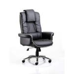 Chairman Executive Black Leather Chair
