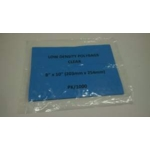 "Poly Bags Clear 8"" x 10"" Low Density"