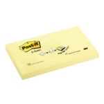 Post-it Yellow Z Notes 76x127mm Pk12