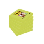 Post-it Notes S/Sticky 76mm Asparagus P6