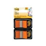 Post-It Orange Index Dispenser Pk2