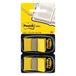 Post-It Yellow Index Dispenser Pk2