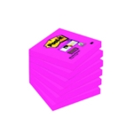 Post-it Fuchsia S/Sticky 76x76mm Notes