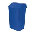 Addis Blue Finish 60 Ltr Fliptop Bin