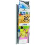 Alba A5 Wall Display Unit 5 Pocket Mtllc