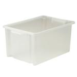 Strata Jumbo Storemaster Box 48.5L Clear