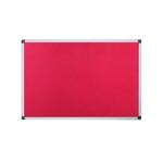 Bi-Office Noticeboard 1200x900mm Red