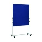 Bi-Office Blue 1500x1200mm Mobile Board