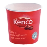Kenco 7oz Singles Paper Cups Red Pk800