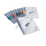 Durable 3mm Swingclip Folders Asstd Pk25