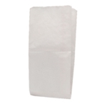 Paper Bag White W216xD152xH279mm Pk1000