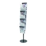 Deflecto 7Pkt Literature A4 Floor Stand