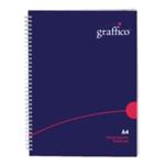 Graffico HCover Wirebound Notebook A4