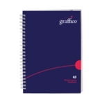 Graffico HCover Wirebound Notebook A5