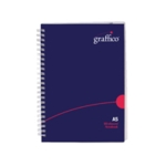 Graffico PP Wirebound Notebook A5