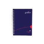 Graffico HCover Wirebound Notebook A6