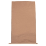 Plain Paper Waste Sack 485mm Brown Pk50