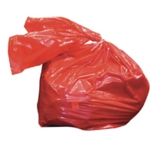 Laundry Soluble Strip Bags Red 50Ltr