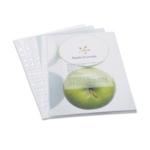Rapesco Eco Punch Pockets A4 Clear Pk100