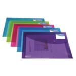 Rapesco ID Wallet A4 Plus Trans Asd Pk5