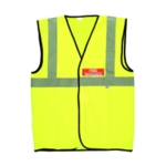 Fire Warden Yellow Vest Hi-Visibility XL