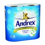 Andrex  Classic Clean Toilet Roll Pk24