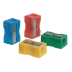 Q-Connect Plastic Pencil Sharpener Pk10