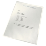 Leitz Recycled Cut Flush Folders A4 P100