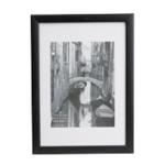 PAC Black Wood Certificate Frame Glass