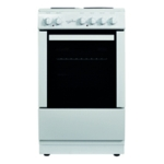 Statesman White 50cm Electric Cooker