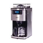 Bean to Cup Coffee Machine 12 Cup Silver