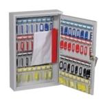 Lockable 64 Hook Key Cabinet