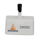 Announce Visitor Name Badge 60X90 Pk25