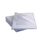 Rexel Anti Slip Cut Flush Folders A4 Clr