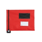 GoSecure Red Flat Pouch 286x336mm FP7R