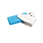 Verbatim Blue Swivel USB Drive 8GB 49812