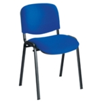 Gladstone Classroom Chair with upholstered seat and back