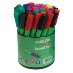 EziGlide ColourFun Broad Tip Assorted Tub