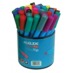 EziGlide ColourFun Fine Tip Assorted Tub