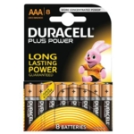 Duracell Battery Plus AAA Pk8 75052868