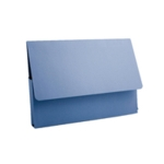 Guildhall Document Wallet A4 Blue Pk50