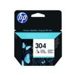 HP 304 Colour Ink Cartridge N9K05AE