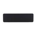 FF Jemini Strght/Round Black 1800mm Scrn