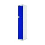 Single Compartment Locker 300 Blue