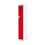 FF DD 1Door Locker 300X300X1800 Red Door