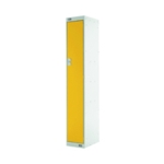 Single Compartment Locker 300 Yellow