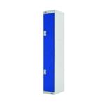 FF DD 2Door Locker 300X300X1800 Blu Door