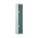 Two Compartment Locker 300 D/Grey