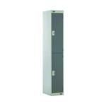 FF DD 2 Door Locker Dk Grey Dr 300mm