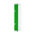 FF DD 2Door Locker 300X300X1800 Grn Door